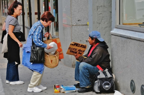 be kind to the poor