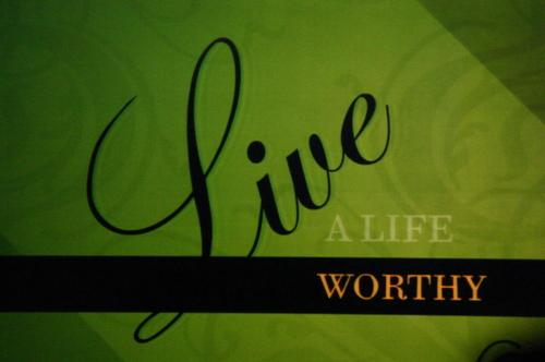 living worthy