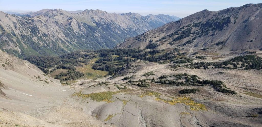 north of Cameron Pass