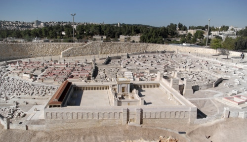 God's temple in Jerusalem