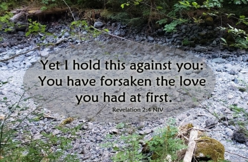 abandoned your first love