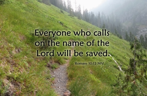 calling on the name of the Lord