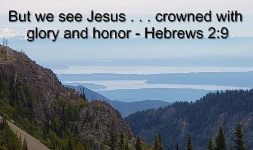 we see Jesus