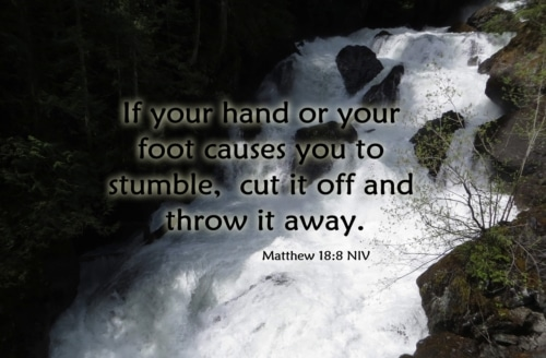 cutting off your hand