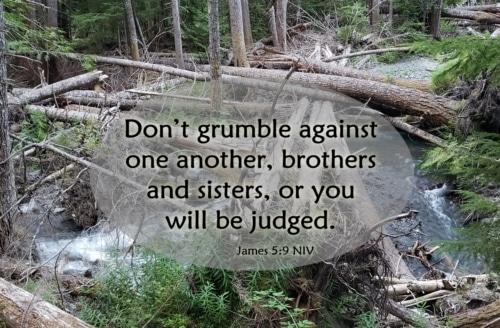 don't grumble