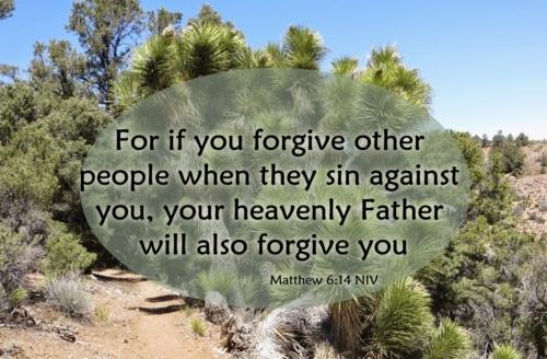 forgiving those who hurt you
