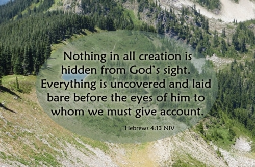 giving account to God