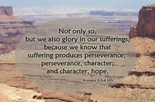 glory in suffering