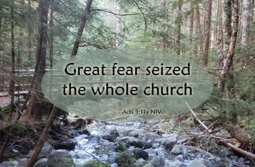 great fear seized the church