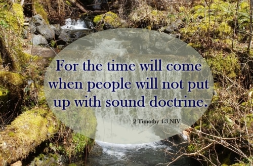hold on to sound doctrine