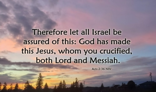 Lord and Messiah
