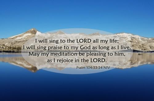 meditation pleasing to God