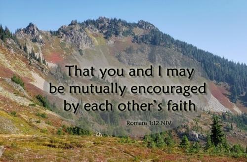 mutual encouragement