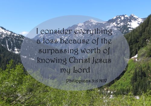 the surpassing worth of knowing Christ