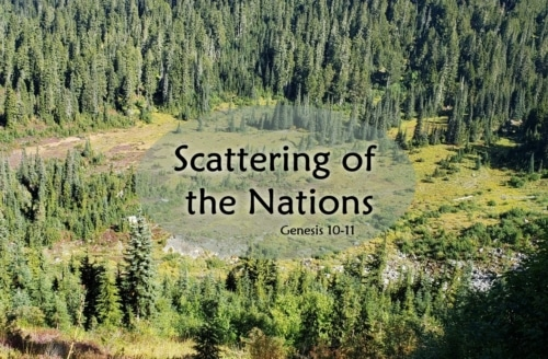 Scattering of the Nations