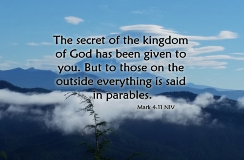 why parables