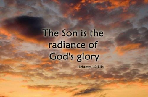 radiance of God's glory