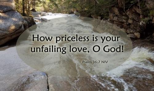priceless love of God
