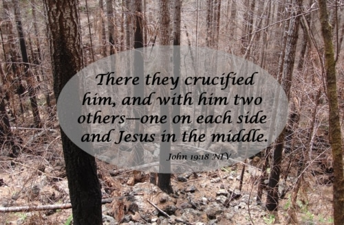There were three crosses at Calvary that day. Jesus was on the cross of atonement. Is there any significance to the other two?