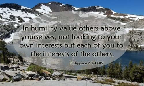 value others above yourself