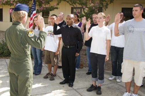 making an oath