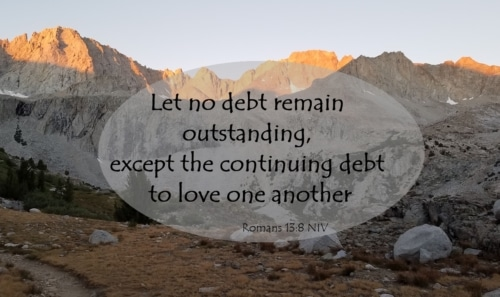 Debt of love